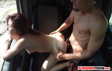 Teen Hitchhiker Vannessa Phoenix Gets Fucked Hard