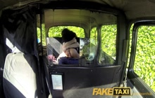 Black babe fucks taxi driver for revenge